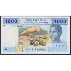 Центральные Африканские Штаты, Конго 1000 франков 2002 года (Central African States Congo 1000 Francs 2002) P 107Ta: UNC