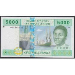 Центральные Африканские Штаты, Конго 5000 франков 2002 года (Central African States Congo 5000 Francs 2002) P 109Ta: UNC