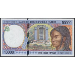 Центральные Африканские Штаты, Конго 10000 франков 2002 года (Central African States Congo 10000 Francs 2002) P 105Cg: UNC