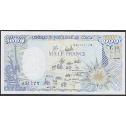 Конго Республика 1000 франков 1991 год (CONGO REPUBLIC 1000 francs 1991) P 10c: UNC