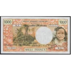 Новые Гибриды 1000 франков 1979 год (New Hebrides 1000 Francs 1979) P 20c: UNC