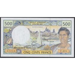 Французские Тихоокеанские Территории 500 франков 1992 года (French Pacific Territories 500 Francs 1992) P 1f: UNC