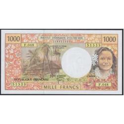 Французские Тихоокеанские Территории 1000 франков 1996 года (French Pacific Territories 1000 Francs 1996) P 2k: UNC