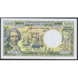 Французские Тихоокеанские Территории 5000 франков 1996 года (French Pacific Territories 5000 Francs 1996) P 3i: UNC