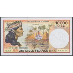 Французские Тихоокеанские Территории 10000 франков 1985 года (French Pacific Territories 10000 Francs 1985) P 4e: UNC