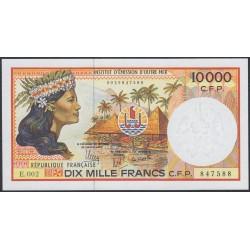 Французские Тихоокеанские Территории 10000 франков 1985 года (French Pacific Territories 10000 Francs 1985) P 4h: UNC