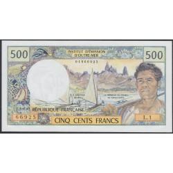 Таити 500 франков 1977 года (Tahiti 500 Francs 1977) P 25b: UNC