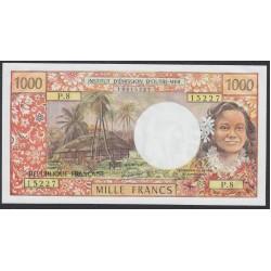 Таити 1000 франков 1985 года (Tahiti 500 Francs 1985) P 25d: UNC