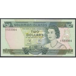 Соломоновы Острова 2 доллара 1977 года (Solomon Islands 2 dollars 1977) P 5: UNC