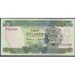 Соломоновы Острова 2 доллара 1986 года (Solomon Islands 2 dollars 1986) P 13: UNC--