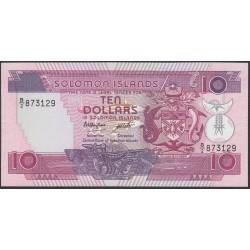 Соломоновы Острова 10 долларов 1986 года (Solomon Islands 10 dollars 1986) P 15: UNC