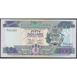 Соломоновы Острова 50 долларов 1986 года (Solomon Islands 50 dollars 1986) P 17: UNC