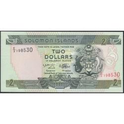 Соломоновы Острова 2 доллара 1997 года (Solomon Islands 2 dollars 1997) P 18: UNC