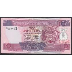 Соломоновы Острова 10 долларов 1996 года (Solomon Islands 10 dollars 1996) P 20: UNC