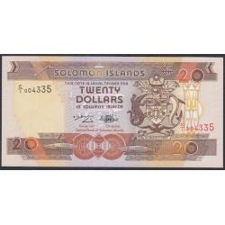 Соломоновы Острова 20 долларов 1996 года (Solomon Islands 20 dollars 1996) P 21: UNC