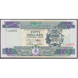 Соломоновы Острова 50 долларов 1996 года (Solomon Islands 50 dollars 1996) P 22: UNC