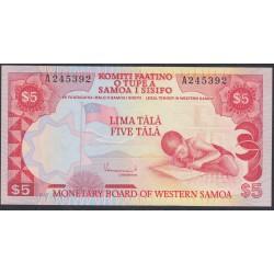 Западное Самоа 5 тала 1980  (Western Samoa 5 Tala 1980) P 21: UNC