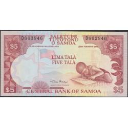 Самоа 5 тала 2002 год  (Samoa 5 Tala 2002) P 33a: UNC