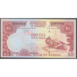 Самоа 5 тала 2002 год  (Samoa 5 Tala 2002) P 33b: UNC