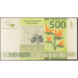 Французcкие Тихоокеанские Территории 500 франков б\д (2014 года) (French Pacific Territories 500 Francs ND (2014 year)) P 5a : UNC