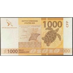 Французcкие Тихоокеанские Территории 1000 франков б\д (2014 года) (French Pacific Territories 1000 Francs ND (2014 year)) P 6a : UNC