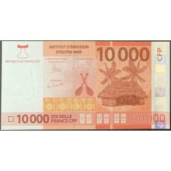 Французcкие Тихоокеанские Территории 10000 франков б\д (2014 года) (French Pacific Territories 10000 Francs ND (2014 year)) P 8 : UNC