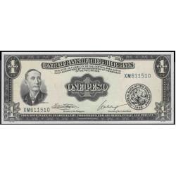 Филиппины 1 песо б\д (1949-69 год) (Philippines 1 peso  ND (1949-69 year)) P 133h : Unc