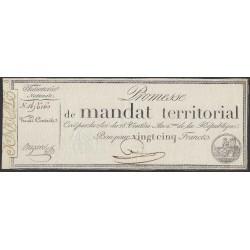 Франция территориальный мандат на 25 Франков 1796 года (France 25 Francs 1796) PA83a: XF/aUNC