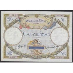 Франция  50 Франков 1928 года (France 50 Francs 1928) P 77a: VF/XF