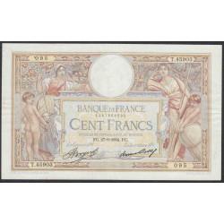 Франция  100 Франков 1934 года (France 100 Francs 1934) P 78c: VF/XF