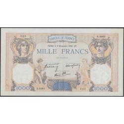Франция  1000 Франков 1938 года (France 1000 Francs 1938) P 90с: XF/aUNC
