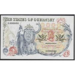 Гуренси 10 фунтов 1975-80 года (GUERNSEY 10 pounds 1975-80) P47: UNC