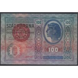 Венгрия 100 корон 1920 года (Hungary 100 korona 1920) P 27: XF/aUNC