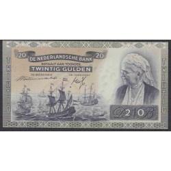Нидерланды 20 гульденов 1941 года (NETHERLANDS 20 Gulden Nederlandsche Bank 1941) P 54: UNC--