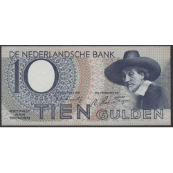 Нидерланды 10 гульденов 1944 года (NETHERLANDS 10 Gulden Nederlandsche Bank 1944) P 59: XF/aUNC