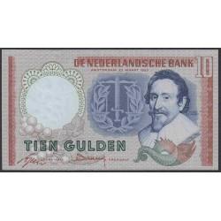 Нидерланды 10 гульденов 1953 года (NETHERLANDS 10 Gulden Nederlandsche Bank 1953) P 85: UNC