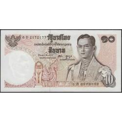 Таиланд 10 бат б\д (1969-78 год) (Thailand 10 bat ND (1969-78 year)) P 83a(10) : Unc