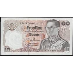 Таиланд 10 бат б\д (1980 год) (Thailand 10 bat ND (1980 year)) P 87(13) : Unc