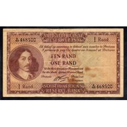 ЮАР 1 рэнд ND (1961 - 65 г.) (SOUTH AFRICA 1 rand ND (1961 - 65 g.)) P103b:XF