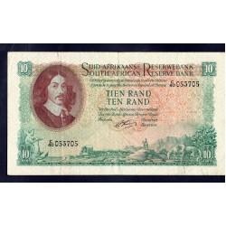 ЮАР 10 рэнд ND (1961 - 65 г.) (SOUTH AFRICA 10 rand ND (1961 - 65 g.)) P107b:XF