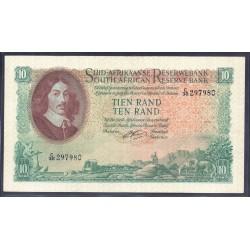 ЮАР 10 рэнд ND (1961 - 65 г.) (SOUTH AFRICA 10 rand ND (1961 - 65 g.)) P107b:aUnc
