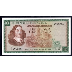 ЮАР 10 рэнд ND (1966 - 76 г.) (SOUTH AFRICA 10 rand ND (1966 - 76 g.)) P113а:Unc