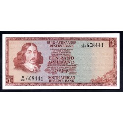 ЮАР 1 рэнд ND (1975 г.) (SOUTH AFRICA 1 rand ND (1975 g.)) P116b:Unc