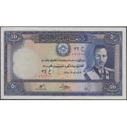 Афганистан 50 афгани SH 1318 (1939 г.) (AFGHANISTAN 50 Afghanis SH 1318 (1939)) P25a:Unc