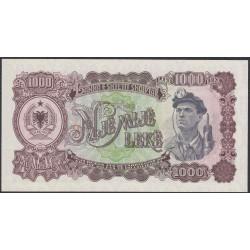 Албания 1000 лекё 1957 года (Albania 1000 Lekё 1957) P 32: UNC