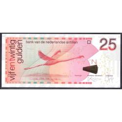 Нидерландские Антильские Острова 25 гульден 1998 г. (NETHERLANDS ANTILLES  25 Gulden 1998) P29а:Unc