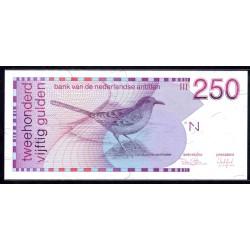 Нидерландские Антильские Острова 250 гульден 1986 г. (NETHERLANDS ANTILLES 250 Gulden 1986) P27:Unc