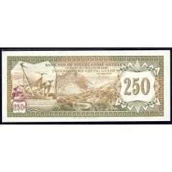 Нидерландские Антильские Острова 250 гульден 1967 г. (NETHERLANDS ANTILLES 250 Gulden 1967) P13:Unc