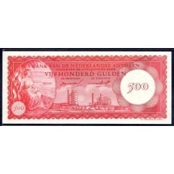 Нидерландские Антильские Острова 500 гульден 1962 г. (NETHERLANDS ANTILLES 500 Gulden 1962) P7:Unc