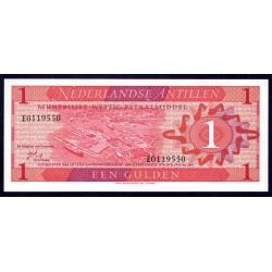 Нидерландские Антильские Острова 1 гульден 1970 г. (NETHERLANDS ANTILLES 1 Gulden 1970) P20:Unc